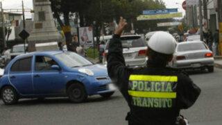 Disponen desvíos vehiculares por eventos deportivos de este domingo en Lima