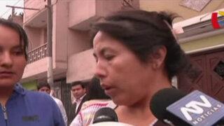 Familiares de taxista que chocó contra auto de Fredy Otárola piden que lo liberen