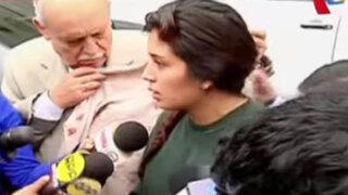 Hija de congresista Fredy Otárola denuncia que taxista trató de chantajearlos
