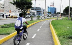 PNP se pronuncia por ciclovías mal diseñadas y desarticuladas