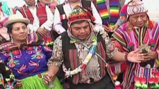 Día del Campesino: realizan ceremonia del 'pago a la tierra' en conocida feria