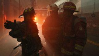 Realizan simulacro de incendio en centro de Lima: participaron más de 100 bomberos