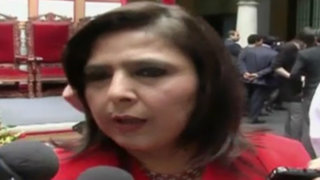 Ana Jara critica a Urresti por autoproclamarse precandidato del nacionalismo