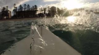 YouTube: luego de lo que vio en el mar dudará cuando quiera surfear otra vez