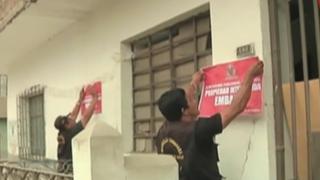Embargan bienes a vecinos morosos de Comas: municipio inició campaña de cobranza coactiva