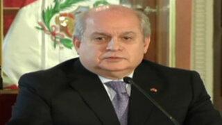 Premier Cateriano asegura que impasse con Chile ha sido resuelto