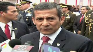 """Ollanta Humala: """"No acepto que comandos Chavín de Huántar pasen de héroes a villanos"""""""