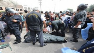 Hombre muere tras ser arrollado por tractor en Villa María del Triunfo
