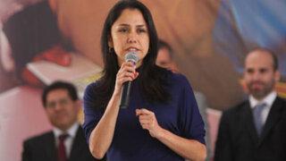 Nadine Heredia no se someterá a prueba grafotécnica ordenada por la fiscalía
