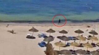 Difunden imágenes del tiroteo que dejó 39 muertos en Túnez
