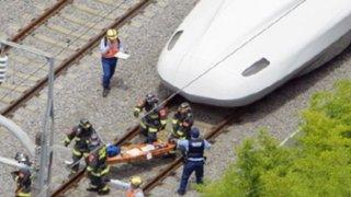 Japón: dos muertos tras desatarse incendio al interior de un tren bala