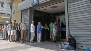 Grecia: grave crisis económica obliga a cerrar bancos durante seis días