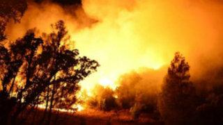 Estados Unidos: cientos de personas son evacuadas por incendio forestal