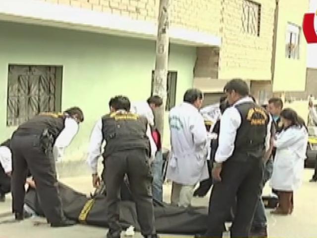 Presuntos sicarios asesinan a hombre en la puerta de su casa en Ventanilla