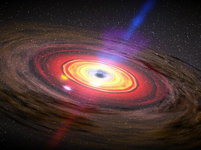 Gigantesco agujero negro despierta tras 26 años y sorprende a los científicos