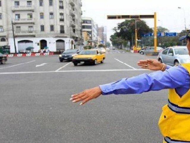 Conoce los desvíos vehiculares que habrá este domingo en tres distritos de Lima