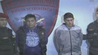 Desarticulan peligrosa banda de 'raqueteros' que operaba en Villa El Salvador