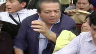 Miraflores: español que agredió a trabajadora del hogar no declara a la prensa