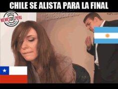 Estos son los memes más crueles contra Chile a pocas horas de la final
