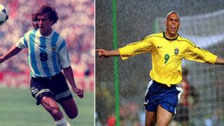 FOTOS : estos son los últimos goleadores de la Copa América