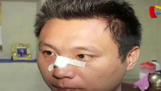 Ordenan captura de dueño de chifa que atacó con machete a joven cliente