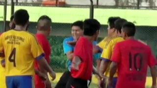 VIDEO: terrible agresión a un árbitro en la Copa Perú
