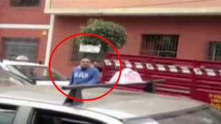 Breña: desconocidos atacan a bombero en plena calle
