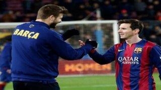 Gerard Piqué envió un sentido mensaje a Lionel Messi tras final de la Copa América