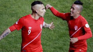 Paolo Guerrero y Christian Cueva en el equipo ideal de la Copa América