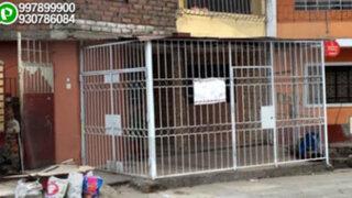 WhatsApp: familia se apodera de vereda para construir su cochera