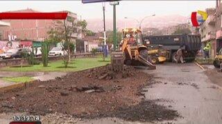 Rímac: inician plan de desvío en avenida Amancaes