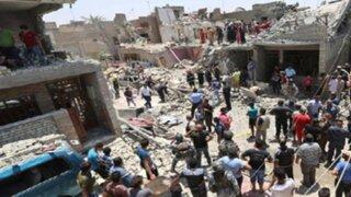 Avión iraquí bombardeó por error Bagdad y dejó nueve muertos
