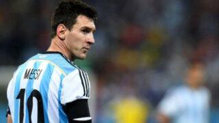 Lionel Messi: El emotivo mensaje al pueblo argentino tras perder la final ante Chile