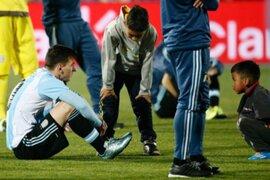 Copa América : ¿Qué le dijeron a Messi los niños que lo consolaron?