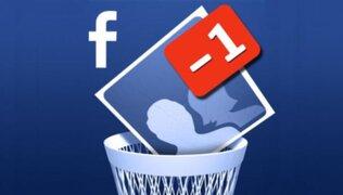 Lanzan aplicación que permite sabe quién te eliminó en Facebook