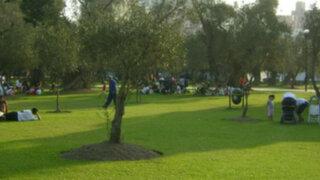San Isidro: protestas por presunta prohibición a fotógrafos en parque El Olivar