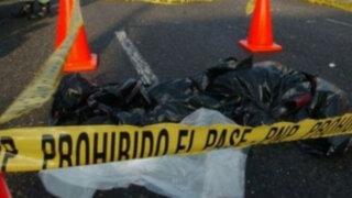Policía muere tras ser arrollado por una camioneta en SJL