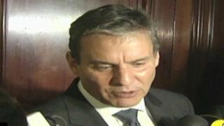 Exministro Figallo ahora dice que no buscaba colaboración eficaz de Martín Belaunde