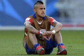 Arturo Vidal pidió disculpas por chocar ebrio y recibió esta sanción