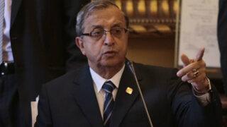 Daniel Mora fue retirado de la Comisión de Educación del Congreso