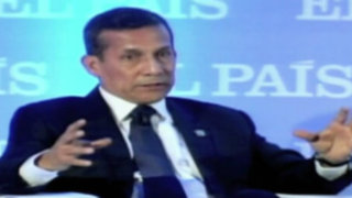"""Ollanta Humala afirma que """"se ha tergiversado"""" sus declaraciones sobre los medios"""