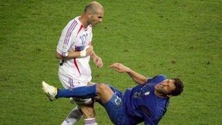 La increíble agresión de Zidane a Materazzi cumple nueve años