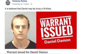 """Facebook: La historia de un fugitivo que pidió a la policía cambiar su foto porque salía """"horroroso"""""""
