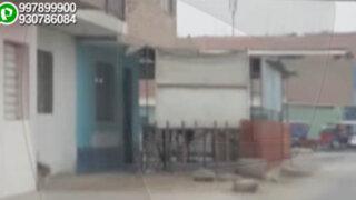 SMP: construyen vivienda, escalera y hasta restaurante sobre las veredas