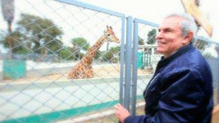 Castañeda recorre Parque de las Leyendas y desmiente informe de Serfor