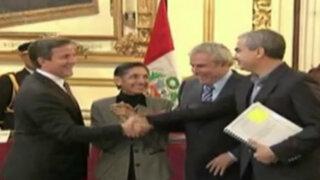 Luis Castañeda Lossio se reúne con alcaldes de San Isidro y Magdalena