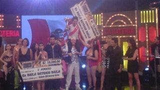 Baila Batería Baila: Manuela y Ojany alzan el trofeo y se llevan los 30 mil soles