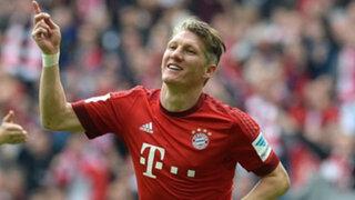 Bastian Schweinsteiger es el nuevo jugador de Manchester United