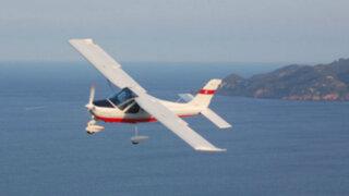 Cañete: hombre salva de morir tras falla de avioneta en pleno vuelo