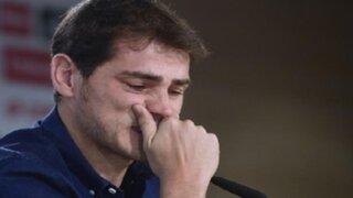 Iker Casillas se despide entre lágrimas del Real Madrid